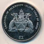 Ascension Island, 2 pounds, 2013