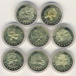 Китай, Набор монет (2008 г.)