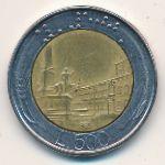 Италия, 500 лир (1983–1991 г.)