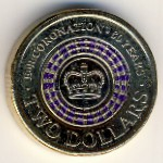 Австралия, 2 доллара (2013 г.)