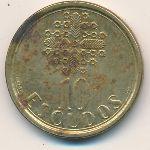 Португалия, 10 эскудо (1986–1999 г.)