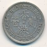 Hong Kong, 20 cents, 1866–1898