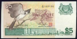 Сингапур, 5 долларов (1976 г.)