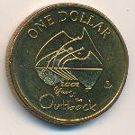 Австралия, 1 доллар (2002 г.)