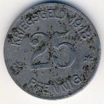 Кобленц., 25 пфеннигов (1918 г.)