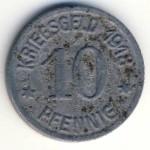 Кобленц., 10 пфеннигов (1918 г.)