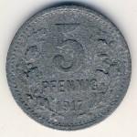 Бонн., 5 пфеннигов (1917 г.)