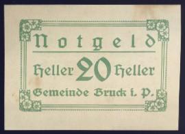 Нотгельды Австрии, 20 геллеров