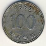 Южная Корея, 100 вон (1989–2014 г.)