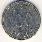 Южная Корея, 100 вон (1984–2014 г.)