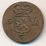 Netherlands East Indies, 1 duit, 1802–1809