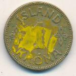 Исландия, 1 крона (1940 г.)