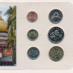 Сингапур, Набор монет