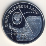 British Antarctic Territory, 2 pounds, 2013