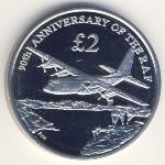 Южная Джорджия и Южные Сэндвичевы острова, 2 фунта (2008 г.)