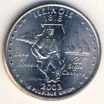 США, 1/4 доллара (2003 г.)