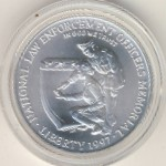 США, 1 доллар (1997 г.)