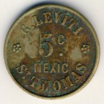 Saint Thomas, 5 cents, 1928