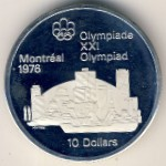 Канада, 10 долларов (1973 г.)