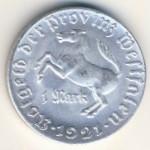 Вестфалия., 1 марка (1921 г.)