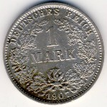 Германия, 1 марка (1896–1915 г.)