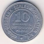 Шлезвиг-Гольштейн., 10/100 марки (1923 г.)