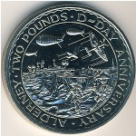 Alderney, 2 pounds, 1994