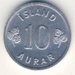 Исландия, 10 эйре (1970–1974 г.)