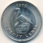 Rhodesia, 20 cents, 1975–1977