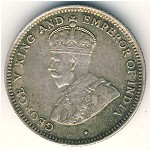 British Honduras, 10 cents, 1918–1936