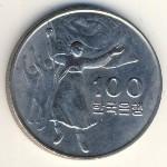 Южная Корея, 100 вон (1975 г.)