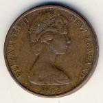Новая Зеландия, 1 цент (1967–1983 г.)