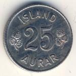 Исландия, 25 эйре (1966 г.)