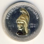 Republic of Minerva, 35 dollars, 1973