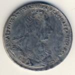 Копии, 1 рубль (1727 г.)