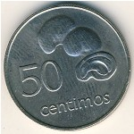 Mozambique, 50 centimos, 1975