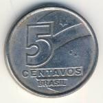Бразилия, 5 сентаво (1989 г.)