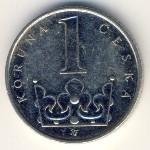 Чехия, 1 крона (1993–2012 г.)