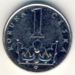 Чехия, 1 крона (2003 г.)