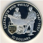 Pitcairn Islands, 10 dollars, 1997
