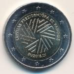Латвия, 2 евро (2015 г.)