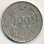 Турция, 100 лир (1987 г.)