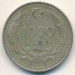 Турция, 1000 лир (1990–1994 г.)