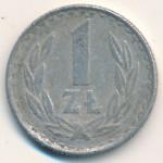 Польша, 1 злотый (1984–1985 г.)