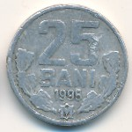 Молдавия, 25 бани (1993–2013 г.)