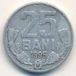 Молдавия, 25 бани (1995–2013 г.)