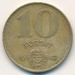 Венгрия, 10 форинтов (1983–1989 г.)