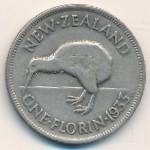 Новая Зеландия, 1 флорин (1933–1934 г.)