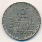 Франция, 10 франков (1948–1949 г.)