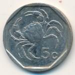 Мальта, 5 центов (1991–2001 г.)